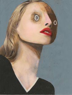 Rook & Raven Gallery #guim tió #guim tio #illustration #face