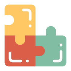 See more icon inspiration related to way, maze, road, labyrinth, solution, puzzle, education, kid and baby and business on Flaticon.