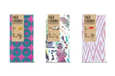 THEO & BROMA on Behance #pattern #packaging #trade #chocolate #fair
