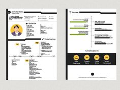Pachinko Resume - Free Creative Resume Template in 2 Pages