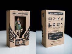 Action Figures #business #design #graphic #cards #3d