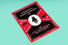 http://dblackman.com/wp content/uploads/2012/11/DanBlackman_CrankyPressman_2 1824x1220.jpg #pressman #letterpress #dan #blackman #cranky #hand