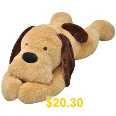 Dog #Cuddly #Toy #Plush #Brown #80 #cm #stuffed #animal