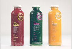 Ripe Juicery #juice #packaging #ripe #cleanse #color #complimentary