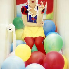 Colorful and Playful Photos by Kelly Nicolaisen - JOQUZ #creative #photography #colors #balloon