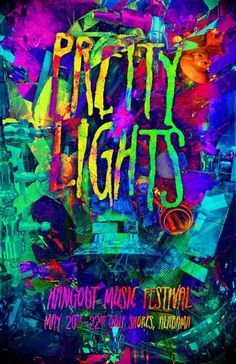Jordan Lloyd #nasa #gig #lights #pretty #colours #space #satellites #colors #poster #concert