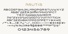 Nautis typeface (font) designed by Thoma Kikis. Teknike.com - #nautis #typeface #font #kikis #thomakikis #sans #capitals #caps #lettering #greek #latin #hebrew #cyrillic #teknike