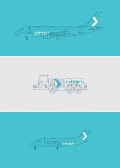 Extrajet on Behance
