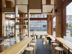 Blue Bottle South Park by Bohlin Cywinski Jackson