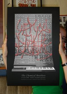 GigPosters.com - Chemical Brothers #chemical #gig #brothers #poster