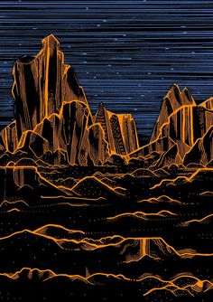 Space - elenaboils illustration