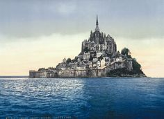Spectacular postcards capture 1890s France in vibrant color