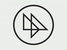 Dribbble - Logo Variations Animated by Matt Hunsberger #logo #gray