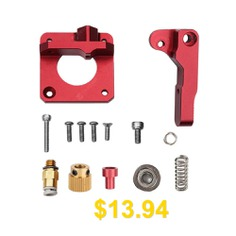 Creality #Upgrade #Replacement #Metal #Extruder #for #CR10 #Ender #3 #S4 #S5 #- #RED
