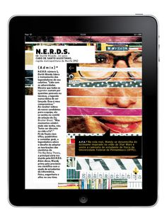 Magazine for tablets on Editorial Design Served #type #layout #design