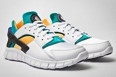 Nike Huarache Free & Air Huarache Basketball 2012 Sneakers | Highsnobiety.com #shoes #free #nike #sneakers #trainers
