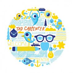 welcome - tad carpenter #illustration #tad #carpenter