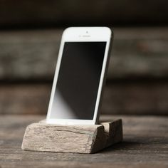 African Spalted Bubinga Mobile Dock #walnut #phone #stand #office #wood #iphone #desk #mobile #bubinga #dock