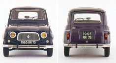 renault 4 celebrates its 50th anniversary #car #renault