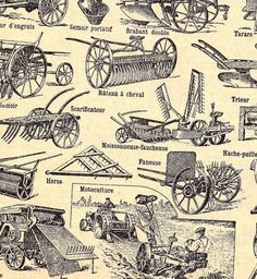 / function forty » / Farm Tools #pattern
