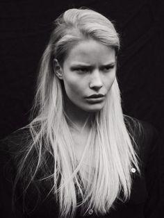 fashion, black and white, model