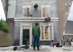 Dalston House by Leandro Erlich #mirror #art