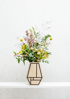 made by david boon - graphic vase