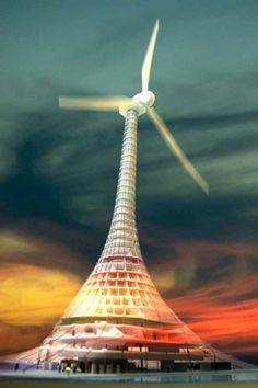 [rafdevis] - Fabien Barral #city #turbine #office #on