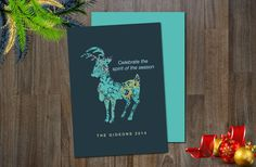 Holiday card #inspiration #creative #design #holiday #cards