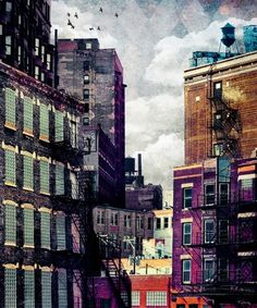 The Rooftop #2 Art Print by Tim Jarosz | Society6