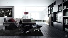 Make a Contemporary Living Room with Accelerating Feeling #contemporary