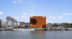 Orange Cube, France by Jakob + Macfarlane | blueverticalstudio #orange #architecture #cube #modern