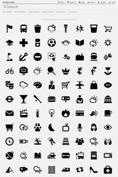 Cutt & Pastte #iconography #project #design #graphic #icons #symbols #the #noun