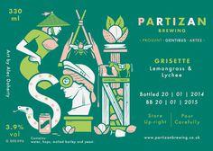Partizan Brewing Saison G000 096 #brewery #partizan