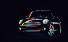 still_01_mini.jpg (JPEG Imagen, 800x500 pixels) #saudi #vector #mini #bmw #illustration #rainbow #car