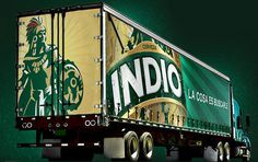 Indio Truck #packaging #beer #bottle
