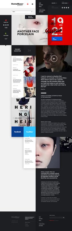 HomeMuse Gallery on Behance #webdesign #web #homemuse