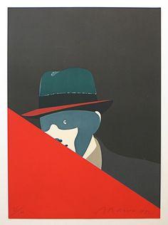 Eduardo Arroyo - Triangle Rouge
