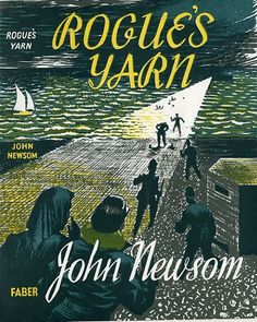 Rogue's Yarn by John Newsom | Flickr - Photo Sharing! #cover #lettering #book