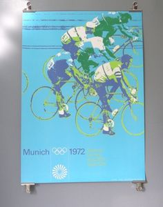 Otl Aicher 1972 Munich Olympics - Posters - Sports Series #1972 #design #graphic #munich