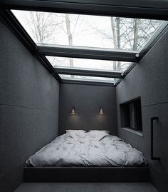 Vipp Shelter – Mezzanine Sleeping Area
