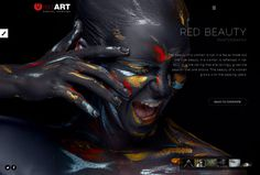 Red Art Photography