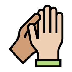 See more icon inspiration related to clap, Applaud, hands and gestures, clapping, congratulations, hand gesture, entertainment, applause and gestures on Flaticon.