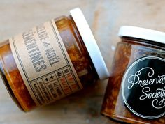 Preservation Society ~ Small batch preserves from Montreal, Quebec #preservation #montreal #marmelade #society