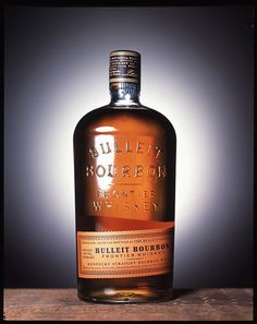 Beautiful packaging for Bulleit Bourbon.