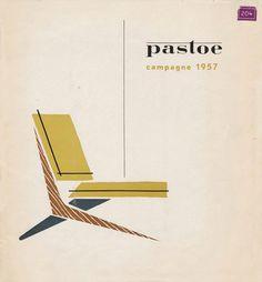 Pastoe 1957 #pastoe #modern #illustration #mid #century