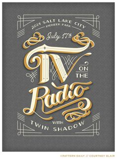 TV on the Radio // Gig Poster