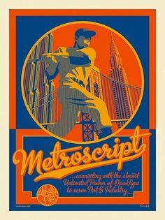 metro_print1.jpg 562×750 pixels #typography