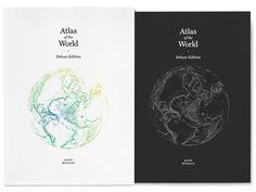 Atlas of the World Jen Lee #illustration #design #book #typography
