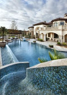 CJWHO ™ (Dallas Elegance by jauregui Architect This...) #design #pool #architecture #dallas #residence #luxury